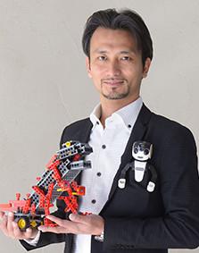 ロボット教室 監修・アドバイザー 高橋 智隆先生