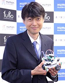 ロボット教室 監修・アドバイザー 古田 貴之先生